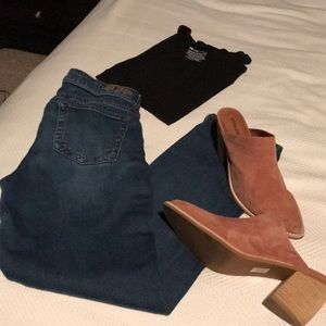 Kut From the Cloth Katy Boyfriend Jeans Size 8P.